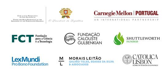 President of the Republic of Portugal, Carnegie Mellon, Fundação para a Ciência e Tecnologia, Fundação Calouste Gulbenkian, Shuttleworth Foundation, LexMundi Foundation, Morais Leitão and Católica Lisbon School of Business