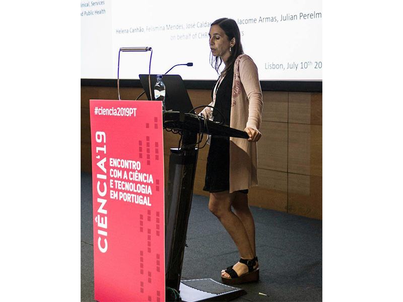 Helena Canhão from Patient Innovation at Ciência 2019